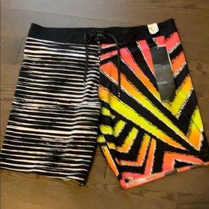 NWT Billabong Sunday Airlite Shorts